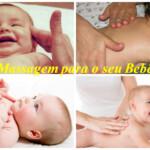Massagem para o seu bebê